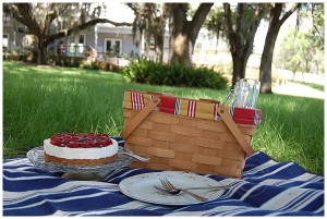 Picnics and Cherry Cheesecake