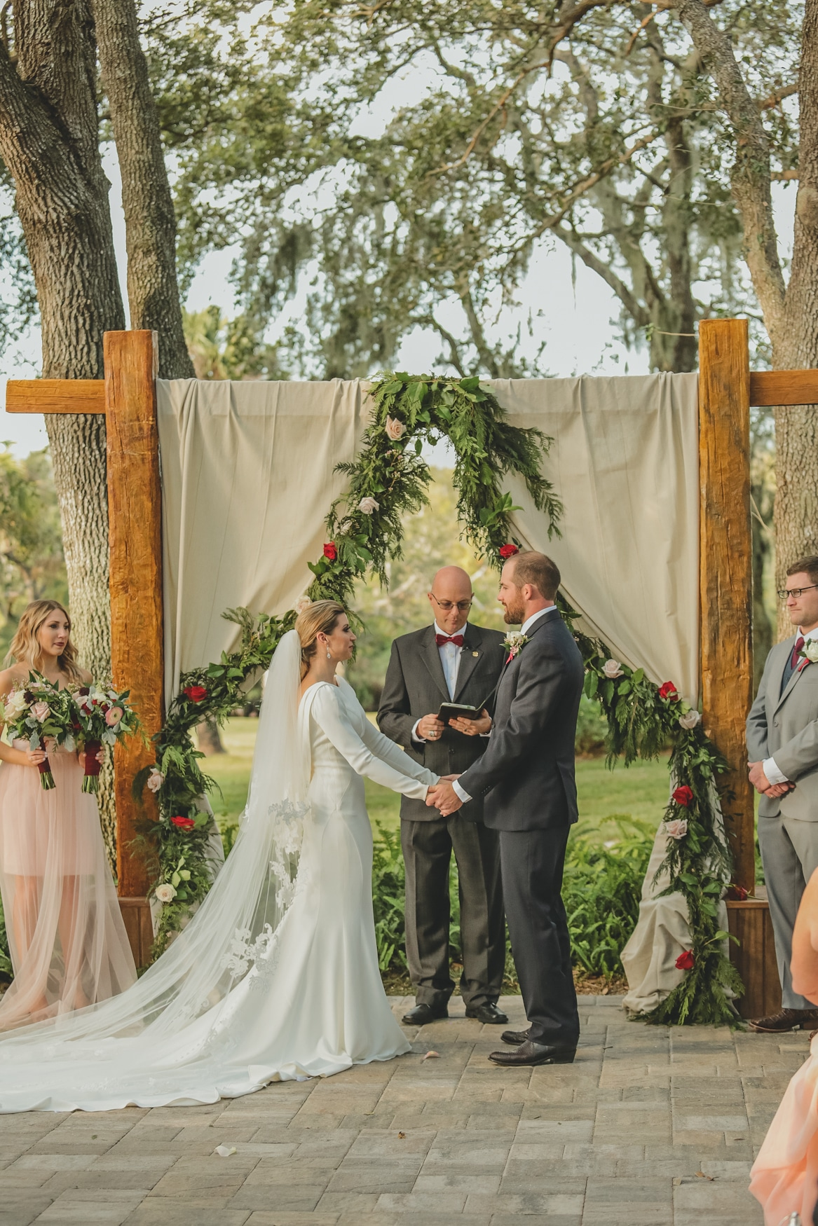 Ceremony at Up the Creek Farms