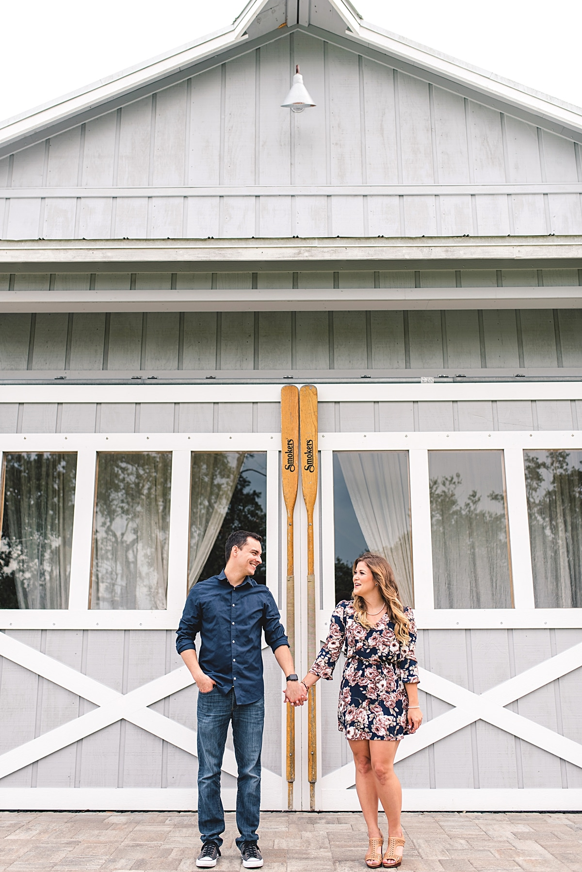 Engagement Session at Up the Creek Farms